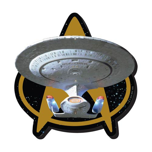 Star Trek Next Generation Ship Funky Chunky Magnet