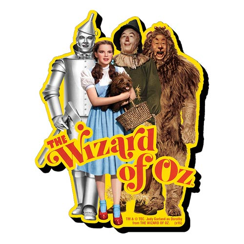 Wizard of Oz Cast Funky Chunky Magnet