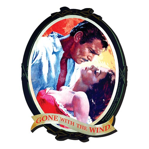 Gone with the Wind Portrait Funky Chunky Magnet