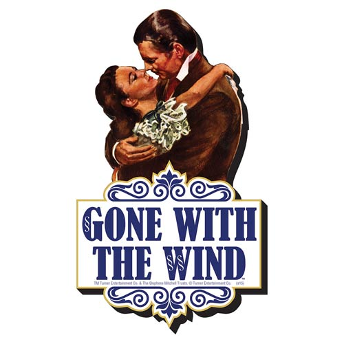 Gone with the Wind Embrace Funky Chunky Magnet