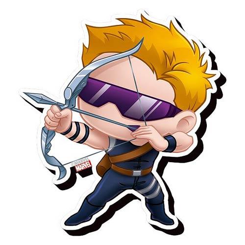 Avengers Hawkeye Chibi Funky Chunky Magnet