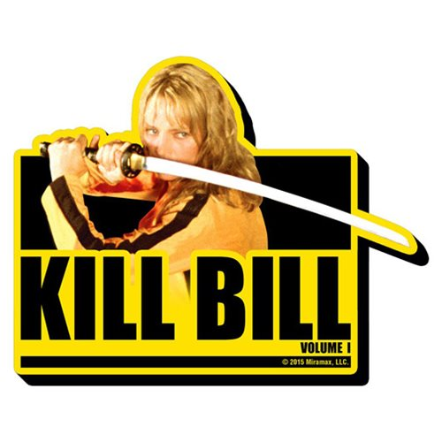 Kill Bill Volume 1 Funky Chunky Magnet