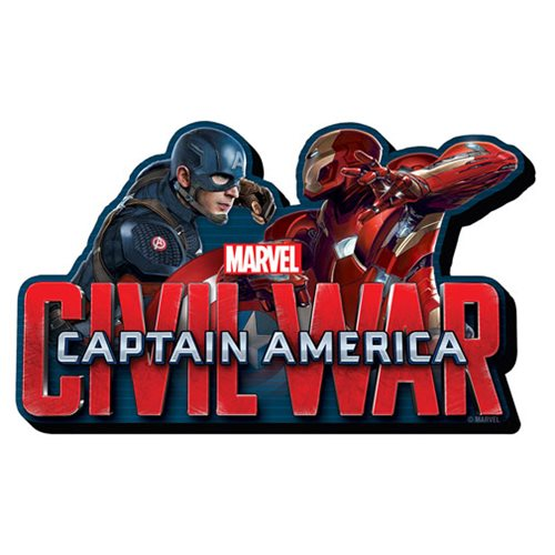 Captain America: Civil War Face to Face Funky Chunky Magnet