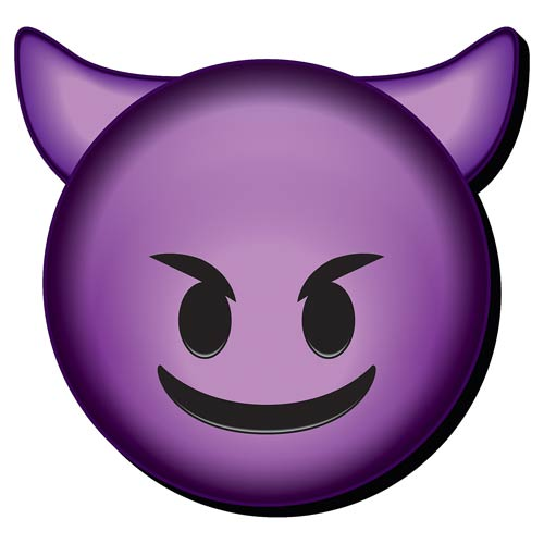 Emoji Devil Funky Chunky Magnet