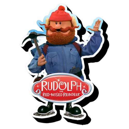 Rudolph the Red-Nosed Reindeer Yukon Funky Chunky Magnet