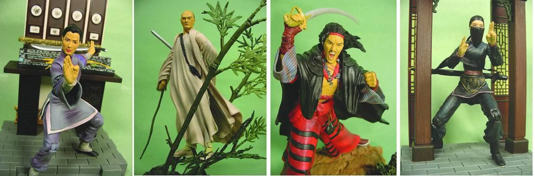 Crouching Tiger Figures