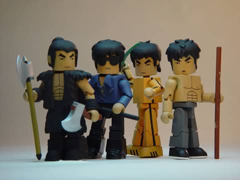 Bruce Lee Minimates Set of 12