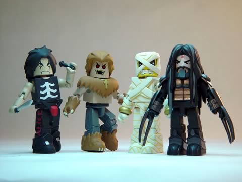 Rock `n` Roll Minimates Case