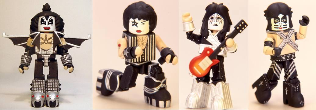 KISS Love Gun Minimates Set