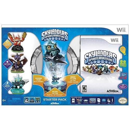 Skylanders Spyro's Adventure Nintendo Wii Starter Pack