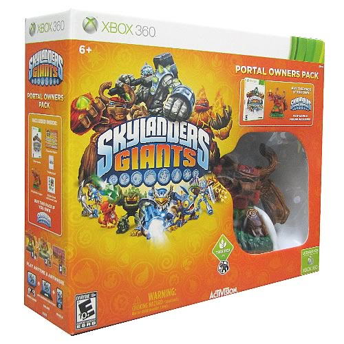 Skylanders: Giants Xbox 360 Portal Owners Pack