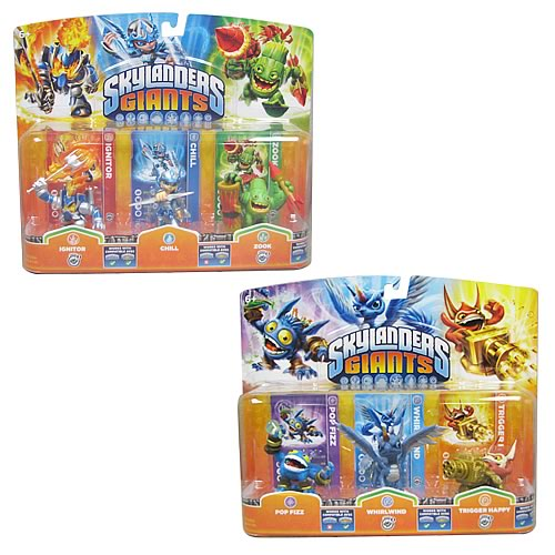 Skylanders: Giants Character Mini-Figure 3-Pack Case
