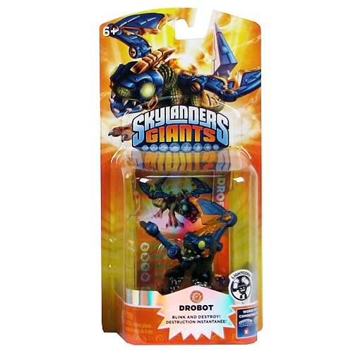 Skylanders: Giants Drobot Light Core Character Mini-Figure
