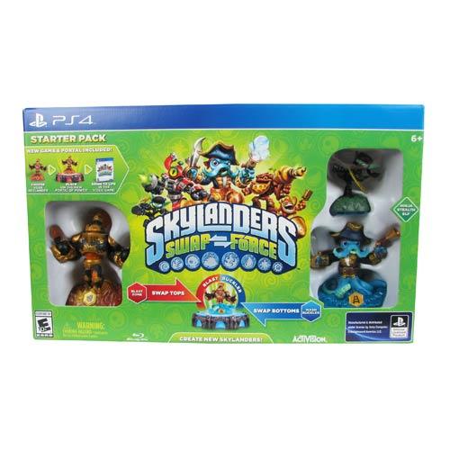 Skylanders Swap Force Sony PS4 Video Game Starter Pack