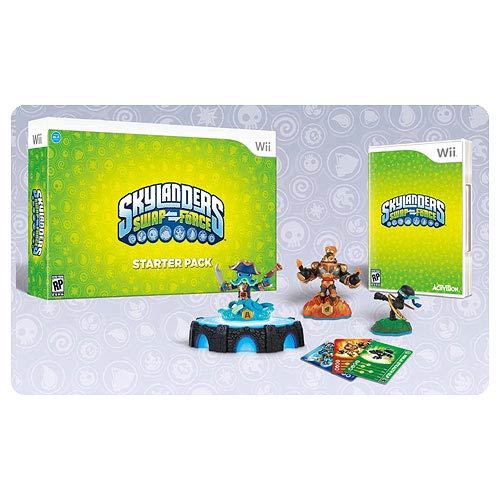 Skylanders Swap Force Nintendo Wii Video Game Starter Pack