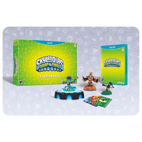 Skylanders Swap Force Nintendo Wii U Video Game Starter Pack