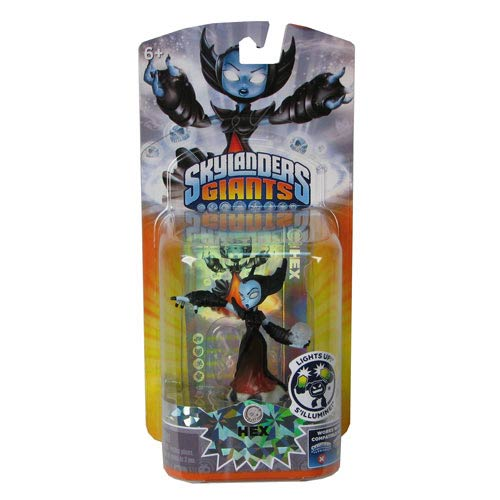 Skylanders Giants Hex Lightcore Swap Force Mini-Figure