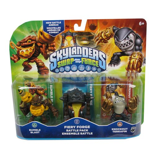 Skylanders Swap Force Core Character Battle Pack Case