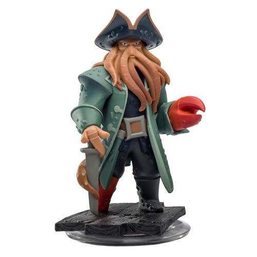 Disney Infinity Davy Jones Mini-Figure
