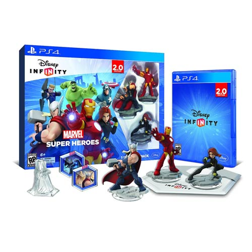 Disney Infinity 2.0 Marvel Super Heroes PS4 Starter Pack