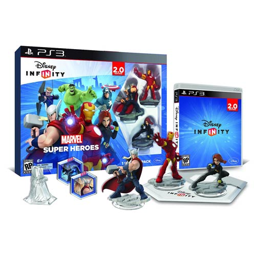 Disney Infinity 2.0 Marvel Super Heroes PS3 Starter Pack