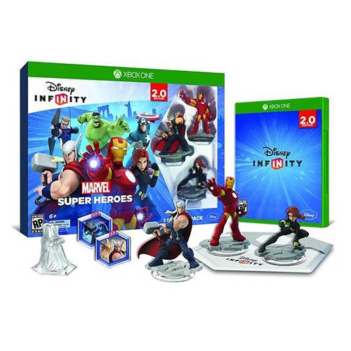 Disney Infinity 2.0 Marvel Super Heroes Xbox One Starter