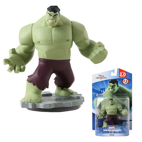 Disney Infinity 2.0 Marvel Super Heroes Hulk Figure