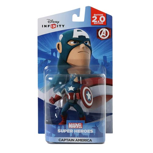 Disney Infinity 2.0 Marvel Captain America Figure