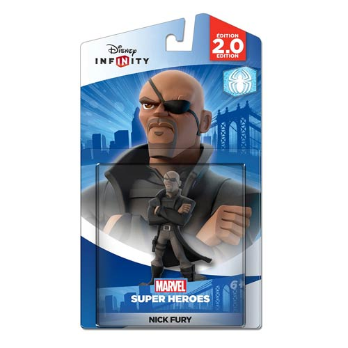 Disney Infinity 2.0 Marvel Super Heroes Nick Fury Figure
