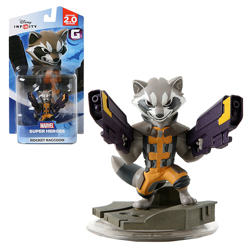 Disney Infinity 2.0 Marvel Rocket Raccoon Figure