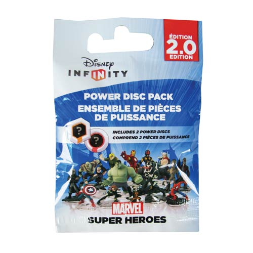 Disney Infinity 2.0 Marvel Super Heroes Power Disc Pack