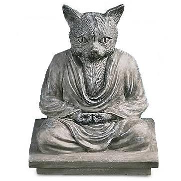 Cat Buddha Statue