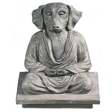 Dog Buddha Statue