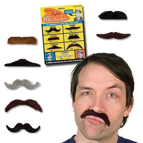 Stylish Mustaches Set