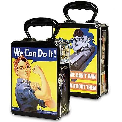 Rosie the Riveter Snack Box