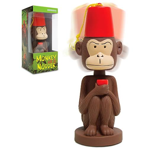Monkey with Fez Nodder