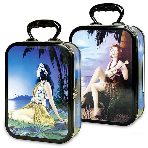 Hula Girls Lunch Box