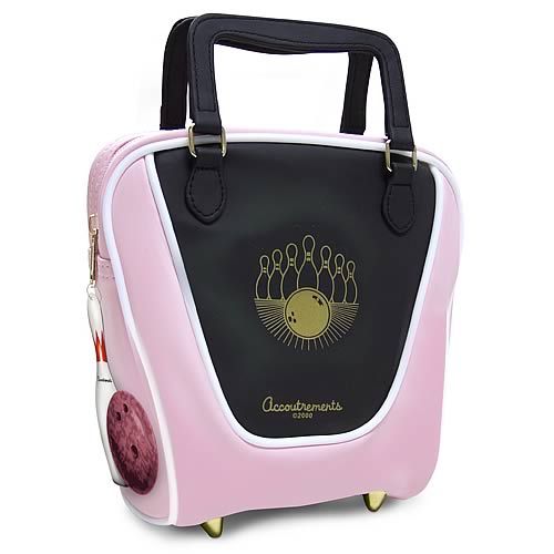 Pink Mini  Bowling Bag Purse