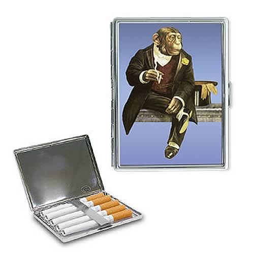 Smoking Monkey Metal Case