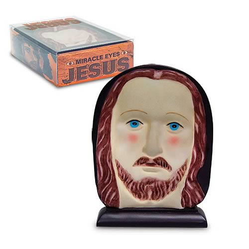 Miracle Eyes Jesus Statue