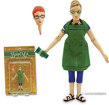 Barista Action Figure