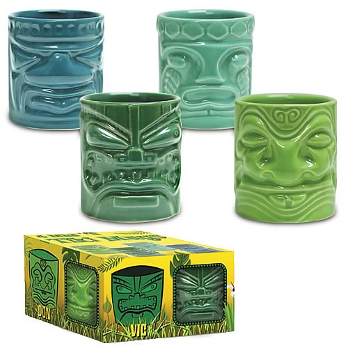 Mini Tiki Mugs