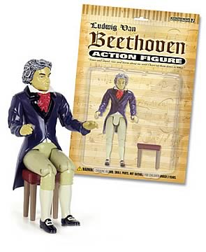 Beethoven Action Figure, Not Mint