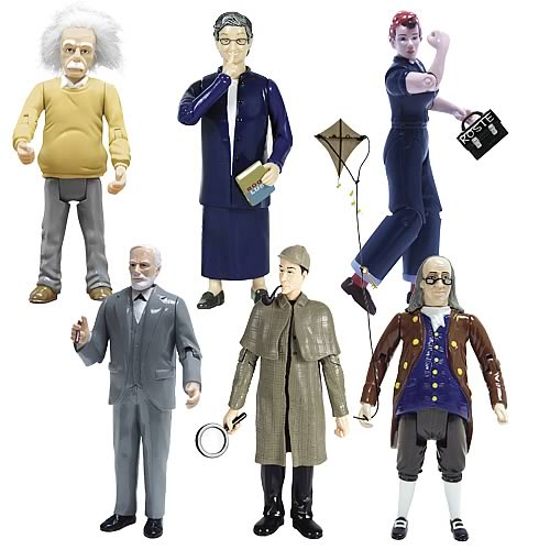 Novelty Action Figure 6-Pack Small Office Bundle