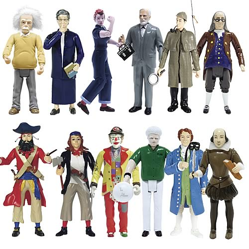 Novelty Action Figure 12-Pack Medium Office Bundle