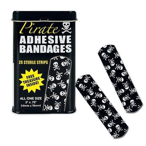 Pirate Adhesive Bandages
