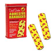 Devil Duckie Adhesive Bandages