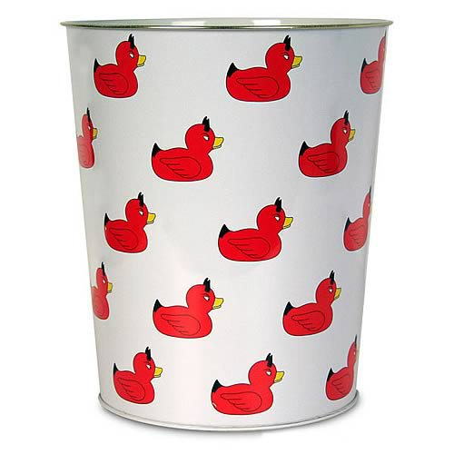 Devil Duckie Trash Container
