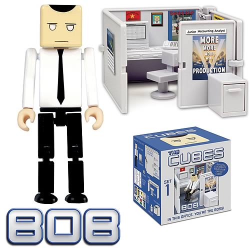 The Cubes 1: Bob Mini-Figure Playset