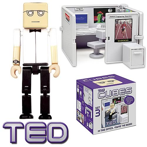 The Cubes 3: Ted Mini-Figure Playset